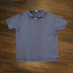 Polo Ralph Lauren blue polo size L